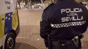 Imagen de archivo de la Policía Local de Sevilla.