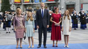 Imagen de la Familia Real en los Premios Príncipe de Asturias