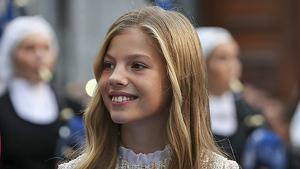 Imagen de la infanta Sofía en los Premios Princesa de Asturias