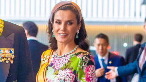 Imagen de la reina Letizia en Japón
