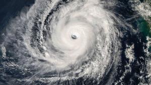 Imagen de satélite del ciclón tropical 'Kyarr'