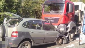 Imagen del accidente ocurrido en Mallabia