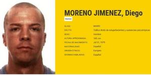 Imagen del criminal español más buscado por la Europol