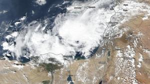 Imagen del satélite MODIS este pasado jueves
