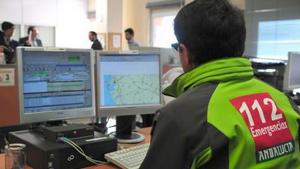 Imagen del Servicio de Emergencias 112 Andalucía