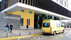 Imatge d'arxiu de l'accés al servei d'urgències de l'Hospital Parc Taulí de Sabadell.
