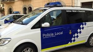 Imatge d'arxiu d'una patrulla de la Policia Local de Cubelles