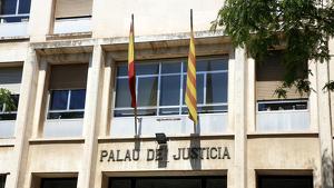 Imatge de la façana de l'Audiència de Tarragona.