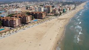 Imatge de la platja de La Paella