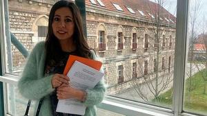 Imatge de Ruth Pérez, candidata de Cs al Senat