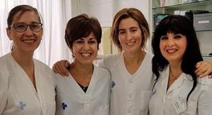 Imatge del grup d'infermeres que duen a terme el projecte