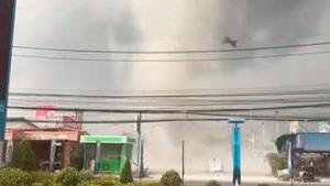 Imatge del tornado de Tailàndia