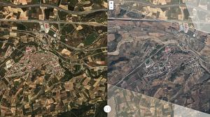 Imatge del visor de l'Institut Cartogràfic i Geològic de Catalunya