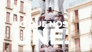 Imatge dels Minyons de Terrassa, en un vídeo publicat pel PP