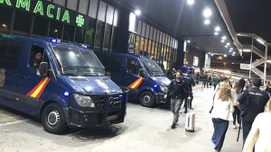 Important dispositiu policial a punts estratègics com l'Aeroport del Prat o l'estació de Sants de Barcelona