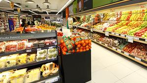 Interior de un BM Supermercados