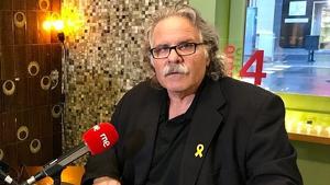 Joan Tardà, ex portaveu d'ERC, durant una entrevista a Ràdio 4