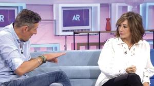 Joaquín Prat y Ana Rosa en el programa