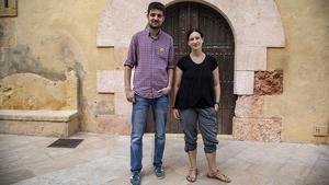 Jordi Molinera i Alba Muntadas lideren el govern d'Altafulla des de la victòria electoral de l'EINA, el maig passat.