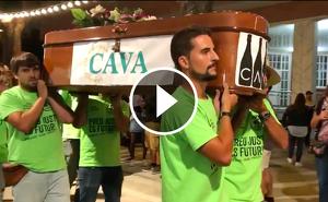 Joves Viticultors del Penedès dona per mosrta la DO Cava