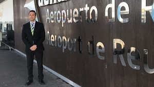 Juan Crespo és des de fa un mes el nou director de l'Aeroport de Reus