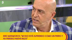 Kiko Matamoros afirma que su hijo lo está pasando muy mal