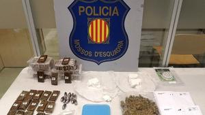 La droga intervinguda pels Mossos d'Esquadra en un pis de la Pineda, a Vila-seca