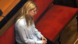 La jove que va defenestrar el seu fill a Barcelona ha estat jutjada avui