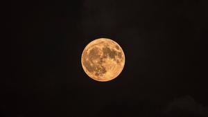 La lluna plena d'octubre és més ataronjada o daurada que la resta