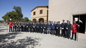 La Policia Local de Vila-seca va celebrar aquest dimecres, 2 d'octubre, la festivitat dels Àngels Custodis al Santuari de la Mare de Déu de la Pineda.