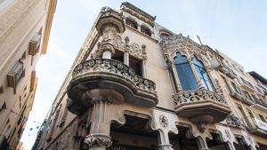 La prioritat serà reconstruir la torre i el capçal de la Casa Navàs.