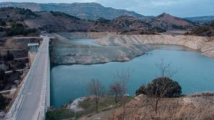 La sequera afecta els pantans de Siurana i Riudecanyes