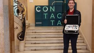 Leonard Ruiz amb el premi