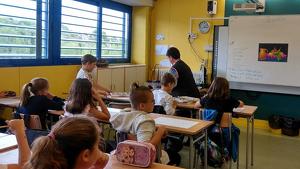 Les escoles de Calafell aposten per acostar l'art als alumnes.