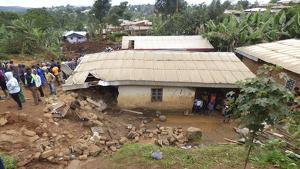 Les pluges han deixat un rastre de destrucció a l'Àfrica equatoriana