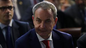 L'expresident espanyol José Luis Rodríguez Zapatero en una imatge d'arxiu