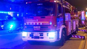 L'incendi ha obligat a mobilitzar sis dotacions dels Bombers de la Generalitat