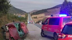 Los hechos han tenido lugar en la carretera N-240, a su paso por Berrioplano