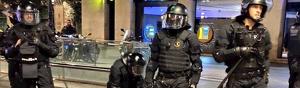 Los Mossos realizaron varias detenciones e identificaciones en una nueva jornada de protestas en Barcelona