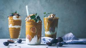 Los smoothies pueden llevar frutas, verduras, lácteos o cacao.