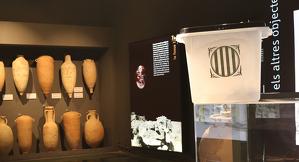 L'urna al Museu de Guissona