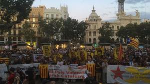 Manifestació en València