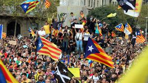 Dissabte vinent hi ha convocada una gran manifestació independentista a Barcelona
