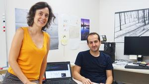 Marta Sala i Roger Guimerà formen l'equip investigador que va participar en aquest projecte.