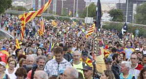 Marxa per la Lliberrat al seu pas per Terrassa i el Vallès Occidental
