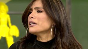 Miriam Saavedra está atravesando una crisis con Carlos Lozano