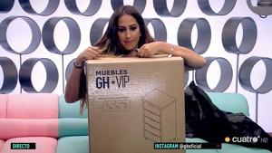 Noemí Salazar nombrada 'mueble' de 'GH VIP 7'
