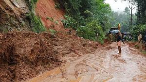 Nombrosos desprendimientos por los aguaceros en África equatorial