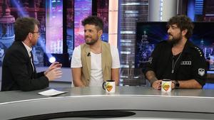 Pablo López y Antonio Orozco confirman su presencia como coaches de 'La Voz' mientras son entrevistados por Pablo Motos en 'El Hormiguero'