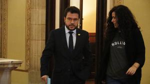 Pere Aragonès ha parlat sobre la impossibilitat de seguir la legislatura amb normalitat sense aprovar els pressupostos